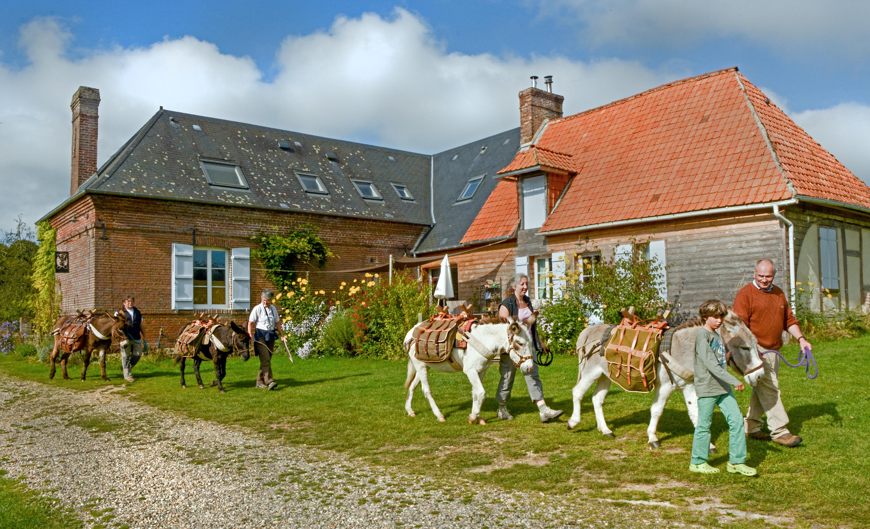 Vacances et gites la ferme en normandie for Vacances en normandie avec piscine