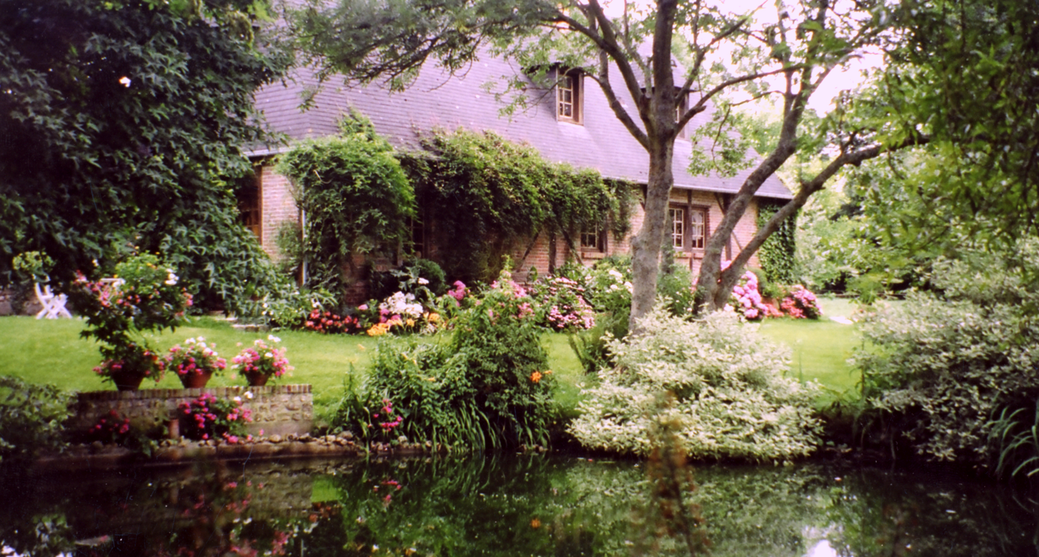 Gite avec jardin en normandie for Jardin 76